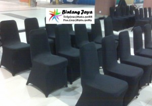 Black cover chairs
