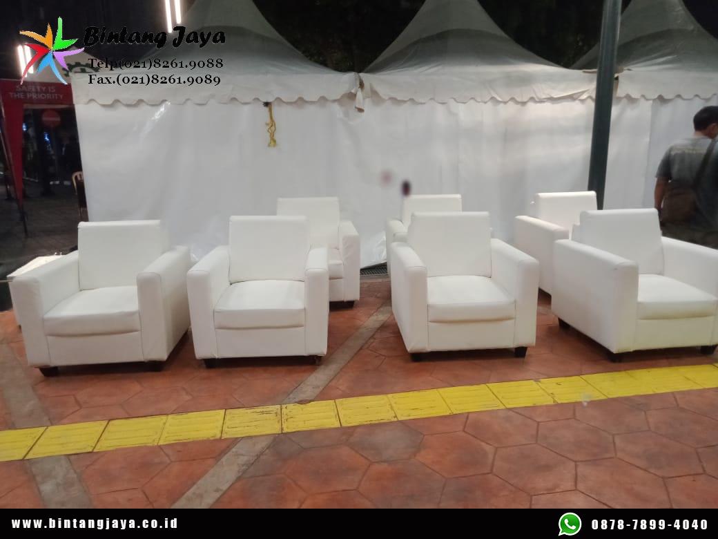 Sewa Sofa Putih Premium Jakarta kualitas terjamin